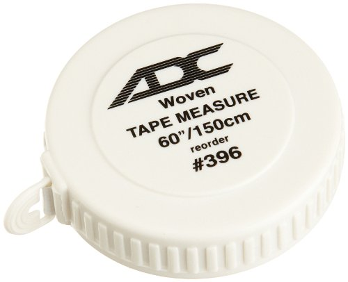 ADC 396 Woven Tape Measure, 60'/150cm