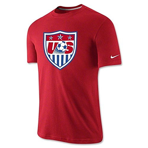 Nike Soccer Replica T-shirt: Nike USA Core Crest T-Shirt 2015 S