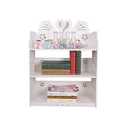 competitive price b670f 9035b Amazon.com: MAOFALZZNA Modern Small Floor Bookcase Kids ...
