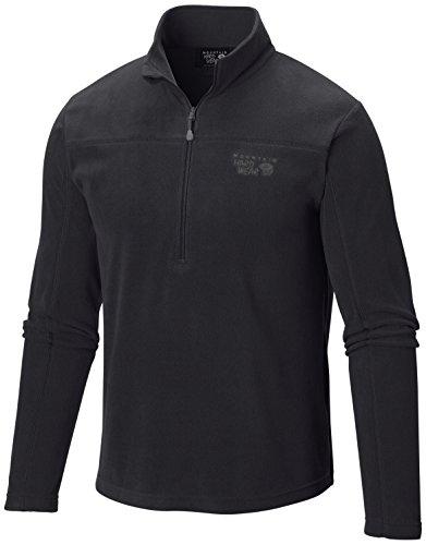 Mountain Hardwear Microchill Lite Zip T - Men's Black ()