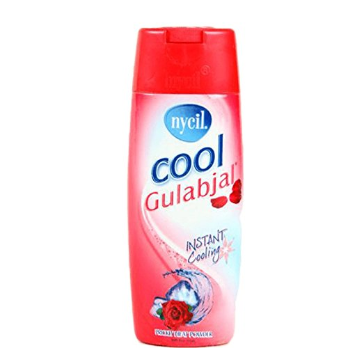 Nycil Cool Gulabjal Instant Cooling Prickly Heat Powder Talc with Rose Fragrance 150g