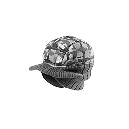 Amazon.com  Globe Skate Shoes Trilogy Visor Beanie Charcoal Black Camo Hat  Cap  Sports   Outdoors 7c08f668f9f
