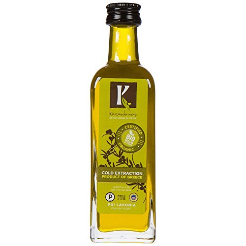 Kasandrinos Pack 6 botellas de viaje griego aceite de oliva orgánico
