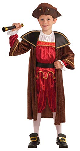 Halloween In Colonial America (Forum Novelties Children's Christopher Columbus Costume,)