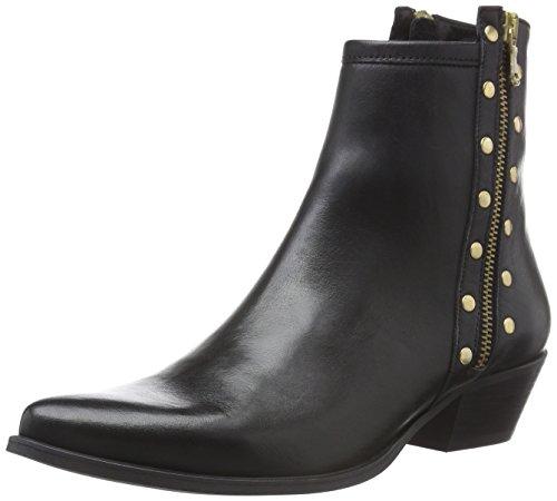 Nero Caviglia Delle Colore nero Stivali W7390 Di Donne Mentore gxCtE8qww