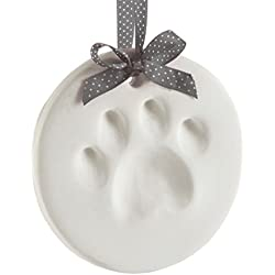 Pearhead Pet Paw Prints Dog Or Cat Paw Print Keepsake Ornament, Creative for Pet Owner or Year-Round Keepsake