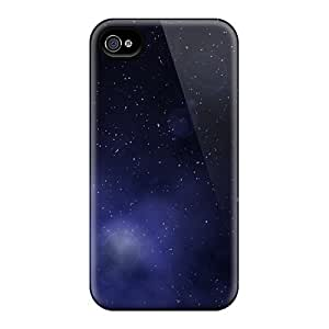 New Deep Space Stars Gas Clouds Cases Covers, Anti-scratch Archerfashion2000 Phone Cases For Iphone 4/4s