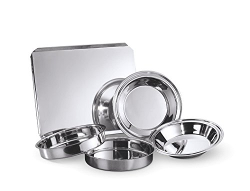 Hammer Stahl 5 Piece Classic Bake Set, Stainless Steel by Hammer Stahl