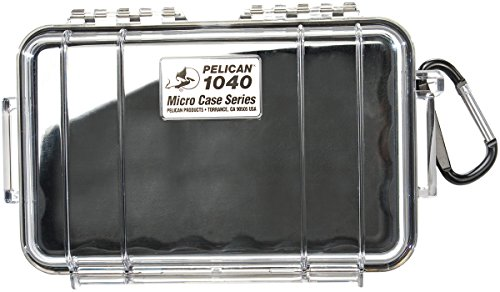 Pelican 1040 Micro Case (Black/Clear)