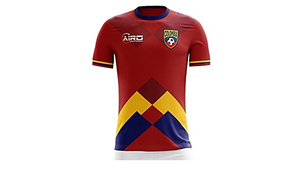 Airo Sportswear 2018-2019 Colombia Away Concept Football Soccer T-Shirt Camiseta (Kids): Amazon.es: Deportes y aire libre