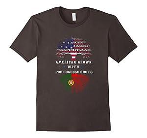 Portugal & American Pride T-Shirt
