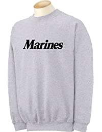 Marines Crewneck Sweatshirt in Gray