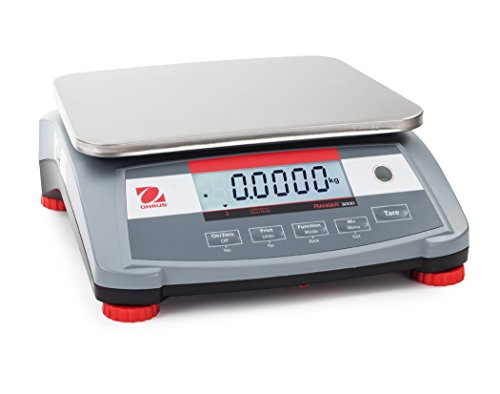 3000 Scale (Ohaus R31P30 Ranger 3000 Compact Bench Scale 30kg x 1g)