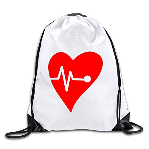 BENZIMM Heart Romantic Love Drawstring Backpacks/Bags (Draw The Titanic compare prices)