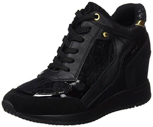 Mesdames Geox D Nydame Une Chaussure Haute, Noir (noir)
