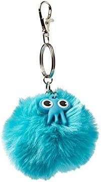 Blue 8 cm Tinc Pom Scented And Fluffy With Character Charm Keyring