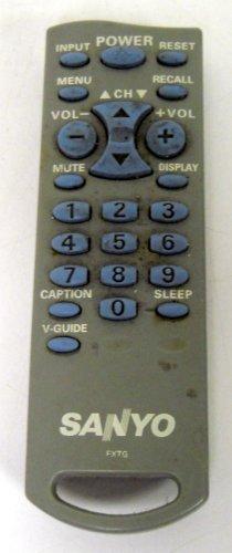 (Sanyo FXTG TV Remote Control)