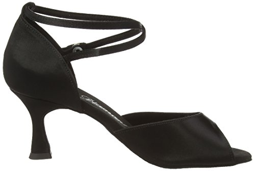 Tanzschuhe Latein Diamant 091 Shoes Women's Damen 087 Dance 017 Ballroom Black Schwarz qEERtrw