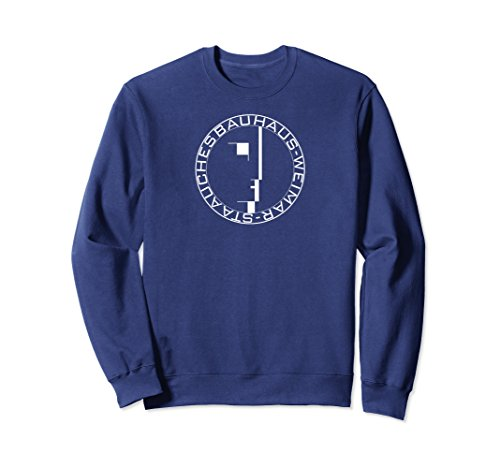 Unisex Bauhaus Seal Sweatshirt Medium Navy