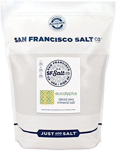 Eucalyptus Dead Sea Salt - 20lb Bag