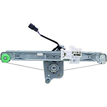Premier Gear PG-748-054 Window Regulator fits Saturn Driver Side Rear with Power Window Motor