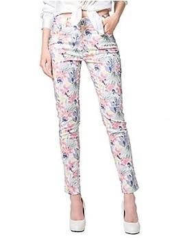 7e3562144f282 Mujer Vestidos Casual 2016 Verano Mujer Blanco Floral Skinny pantalones
