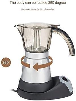 ZHDWM Filtros De Café Café Moka Cafetera Italiana Eléctricos Café Moka Estufa Fabricante De 220V 240V Cafetera De Filtro Percolador, Olla De Café De Los Aparatos Electrodomésticos máquina de café manu: Amazon.es: