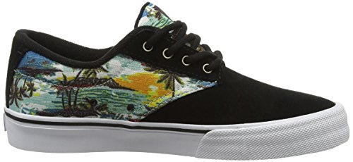 Etnies Jameson Vulc, Zapatillas de Skateboarding para Mujer Multicolor - Multicolor (Black/Aloha350)