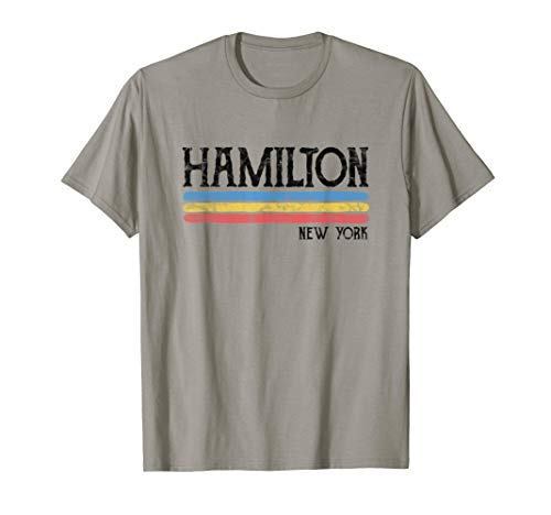 Vintage Hamilton New York NYC T-shirt Gift Love (New York Youth T-shirt)