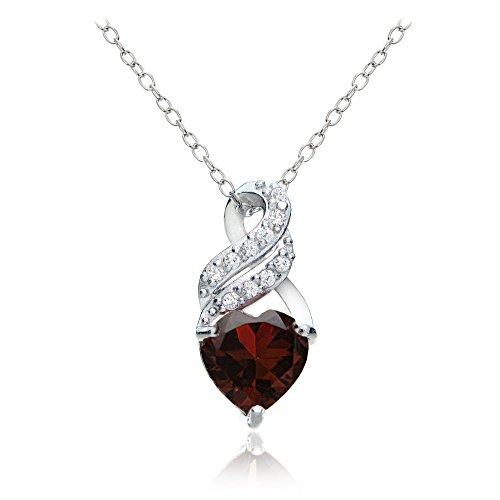 sterling-silver-garnet-and-white-topaz-heart-double-twist-necklace