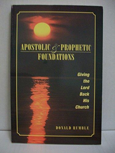 Apostolic Studio - Apostolic & Prophetic Foundations: Giving the Lord Back His Church