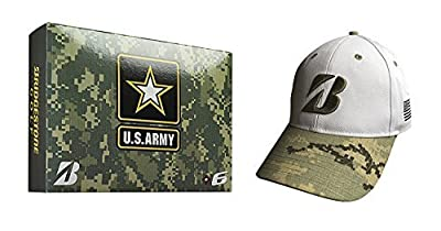 Bridgestone Golf 2015 36 Army Bundle Pack 2015 E6 US Army Budle Pack with Free Us Army Cap