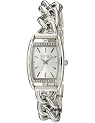 Caravelle New York by Bulova Womens 43L169 Analog Display Japanese Quartz Silver Watch