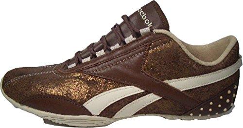 Reebok Nautical Mile Leather 32–136263marrone/beige/oro misura Euro 40,5/US 9,5/UK 7/26,5cm