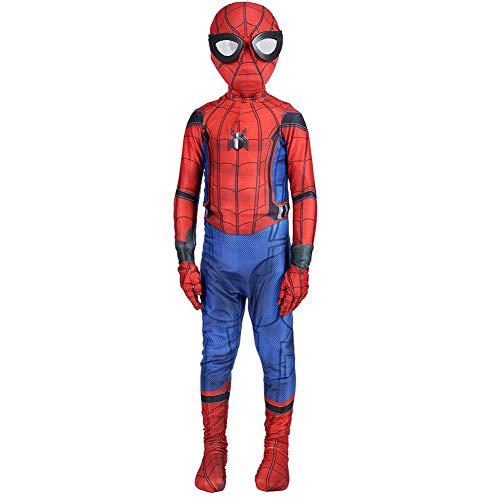 Spiderman Homecoming Costume,Kids Superhero Lycra Spandex Zentai Spiderman Costumes -