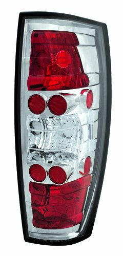 (IPCW CWT-CE342C Crystal Eyes Crystal Clear Tail Lamp -)