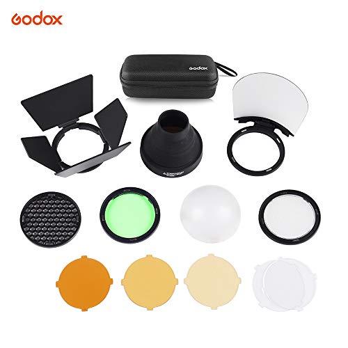 Heads Studio Flash (Godox AK-R1 Pocket Flash Light Accessories Kit for Godox V1 H200R Round Flash Head AD200 Accessories Studio Flash Kit)