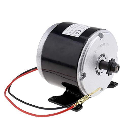 Creative-Idea DC 24V Electric Scooter DC Motor Permanent Magnet Electric Motor Generator Motor 350W DIY for Wind Turbine PMA