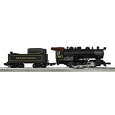 Lionel Pennsylvania Flyer Electric O Gauge Model Train Set w/ Remote and Bluetooth Capability: Toys & Games