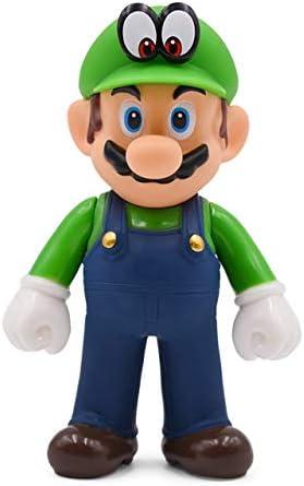 Yvonnezhang 13cm Super Mario Figuras Juguetes Super Mario Bros ...