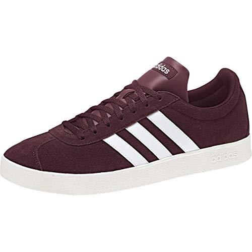 Chaussures ftwbla De Skateboard Rouge granat Adidas 2 0 Garçon Vl blanub 0 Court TnIaSq