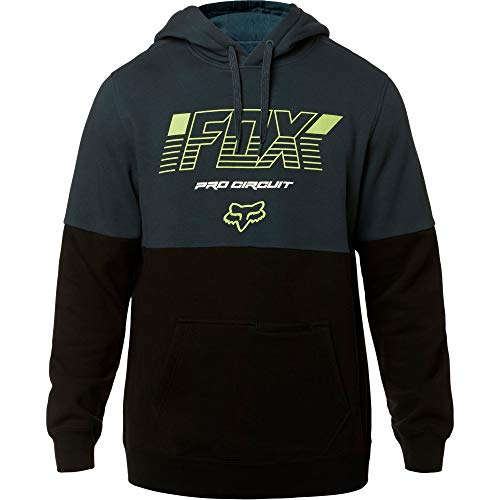 Fox Racing Men's Pro Circuit Pollover Hoody,2X-Large,Navy/Black (Monster Racing Hoodie Fox)