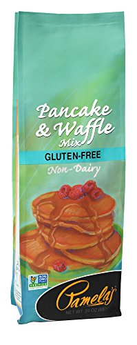 Pamela's Products Gluten Free, Non-Dairy Pancake and Waffle Mix, 24 Ounce (Pack of (Non Dairy Products)
