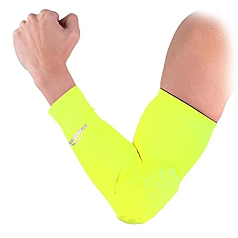 COOLOMG Combat Basketball Pad Protector Gear Shooting Hand Arm Elbow