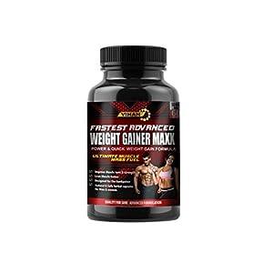 Vihan Weight Gainer Capsule Supplement 1000Mg Capsules For Men And Women – 60 Veg Capsules