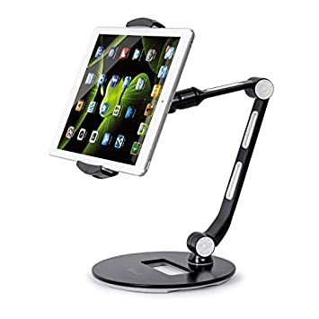 SAALS Tablet Stand for Most Tablets and Smart Phones for Office Kitchen and Living Room Home Office