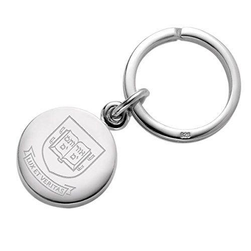 Yale Sterling Silver Insignia Key Ring by M. LaHart