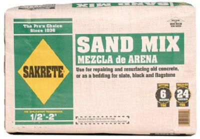 BONSAL AMERICAN SE (WRB) 12160 60LB Sakrete Sand Mix