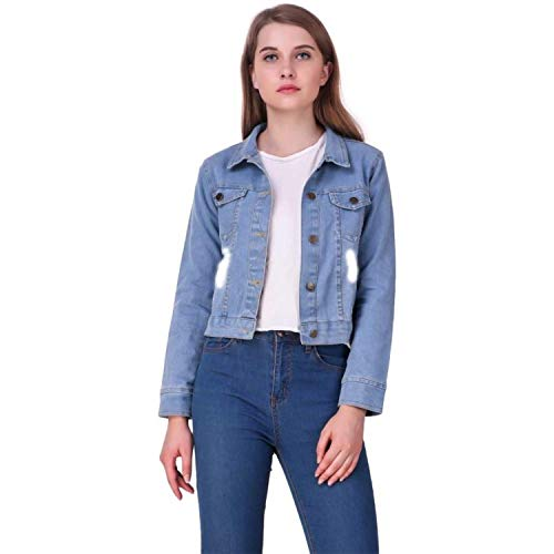 MyraCollection Full Sleeves Solid Women Denim Jacket