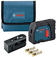 Bosch GPL3 3 Point Self Leveling Alignment Laser Level (Renewed)